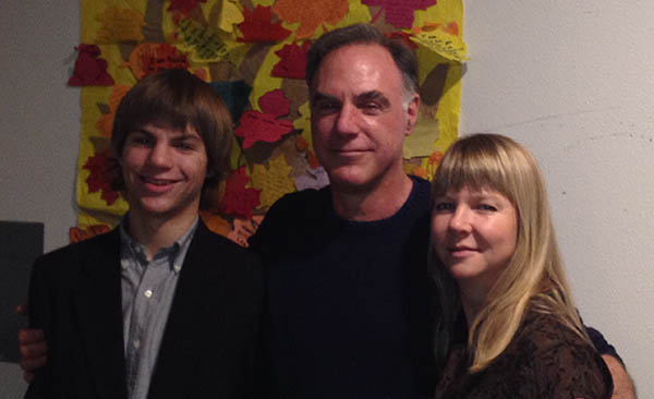 Mason, Brian, and Sharon Beinlich - November, 2013